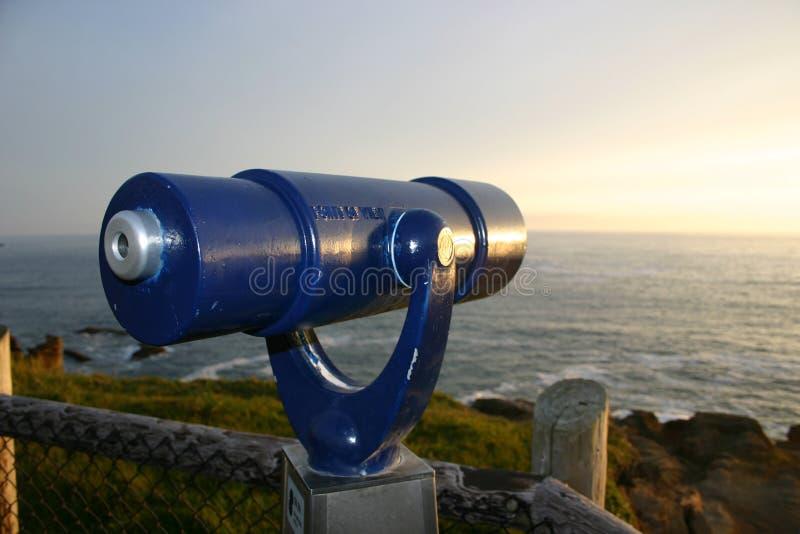 Download Niebieski teleskop obraz stock. Obraz złożonej z zmierzch - 144289
