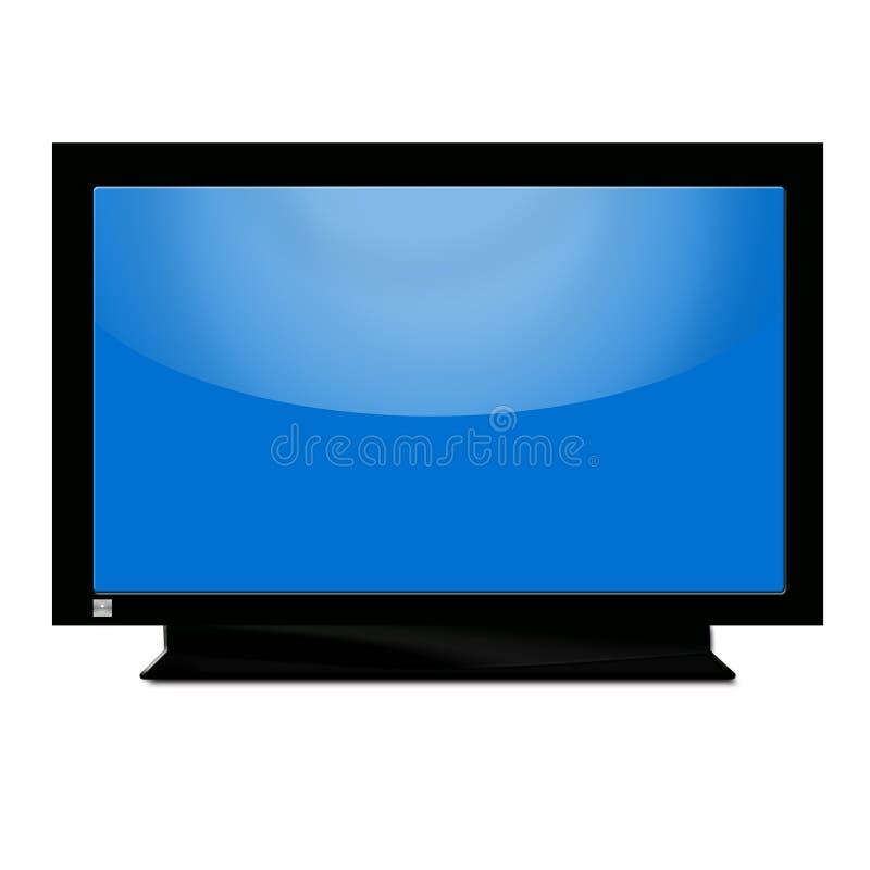 niebieski tv ilustracja wektor