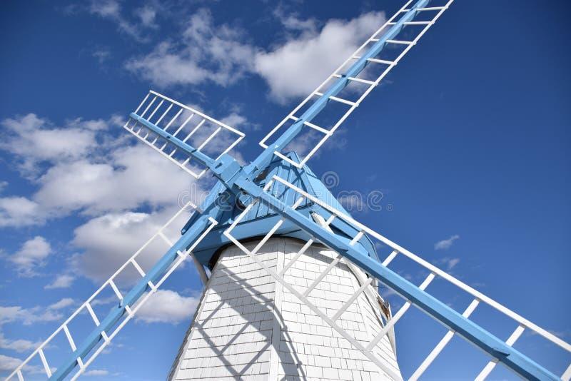 niebieski white obraz stock