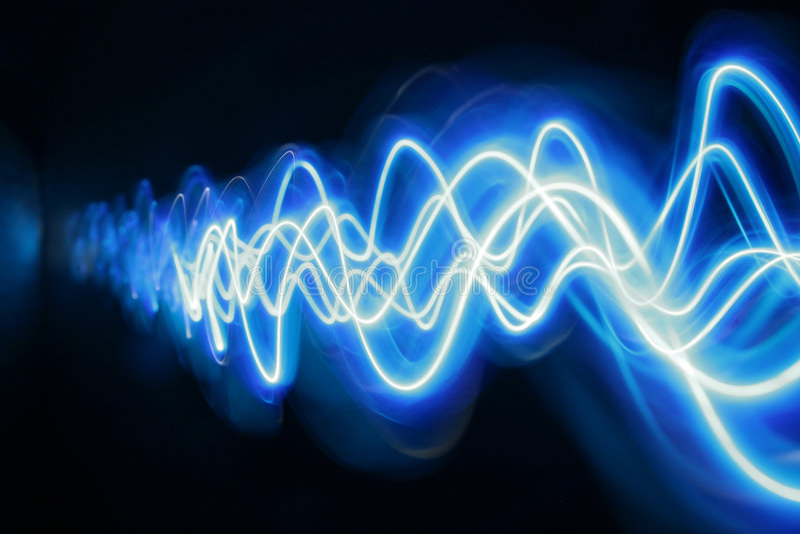 niebieskie światło obrazy stock
