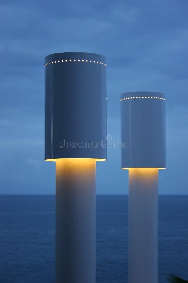 niebieskie światło zdjęcie royalty free