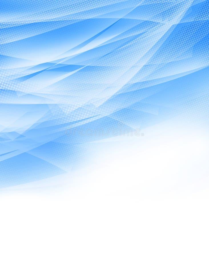 niebieskie światło tła abstrakcyjne ilustracja wektor
