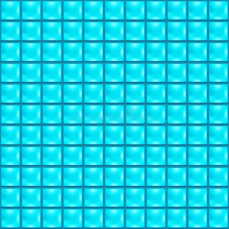 niebieskie kafli ilustracja wektor
