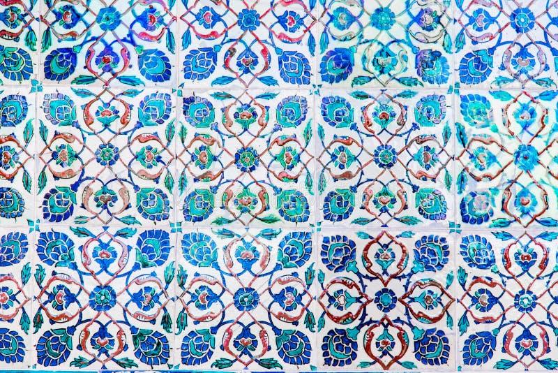 niebieskie kafli fotografia royalty free