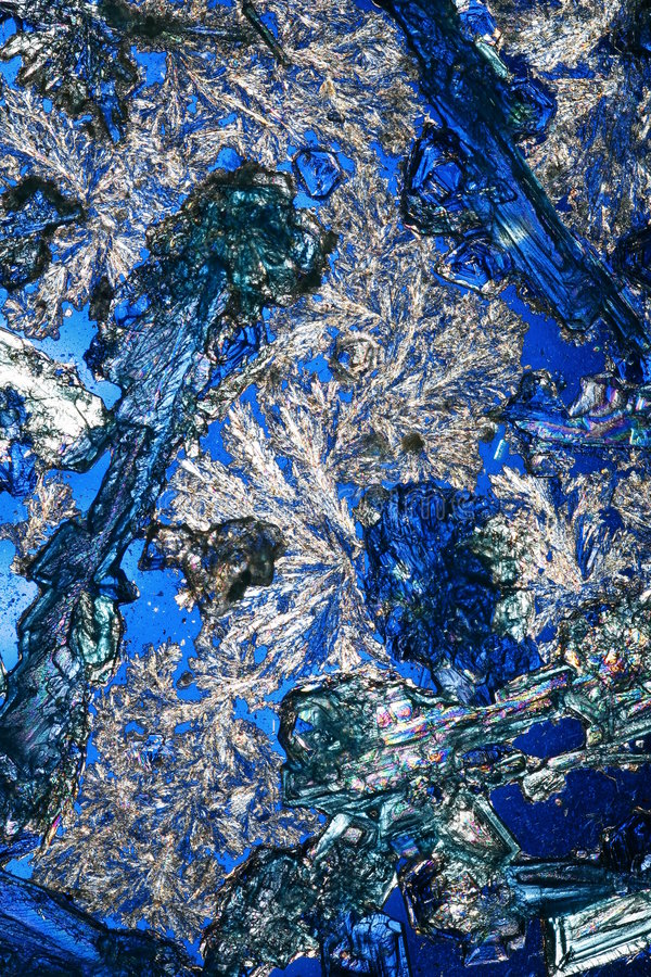 niebieskie kryształy królewskie obrazy royalty free