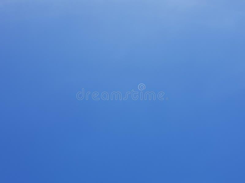 Niebieskie Niebo Bez Clound obrazy stock