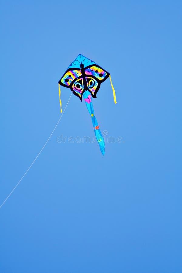 niebieskie niebo latawca obraz royalty free