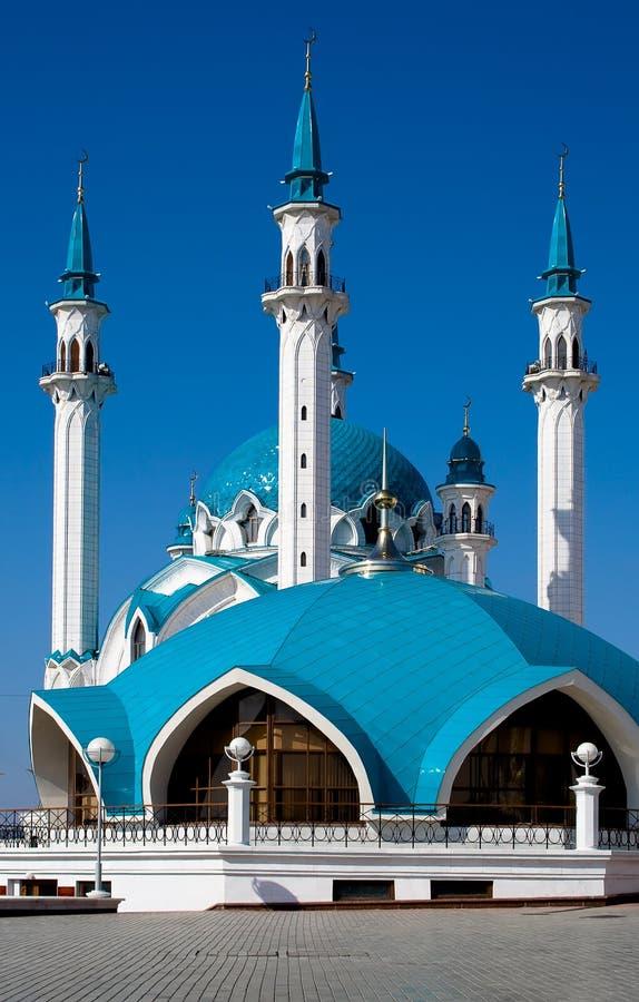 niebieskie niebo meczetowy obraz stock