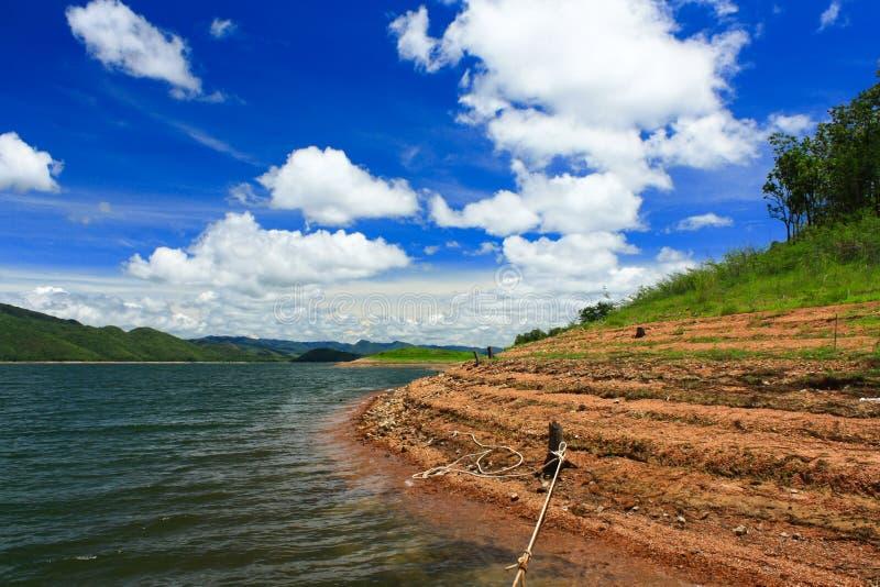 Niebieskie niebo w Tajlandia obrazy royalty free