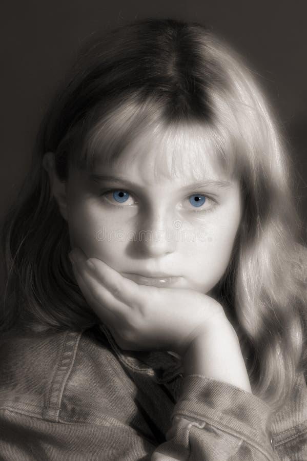 niebieskie oczy obrazy stock