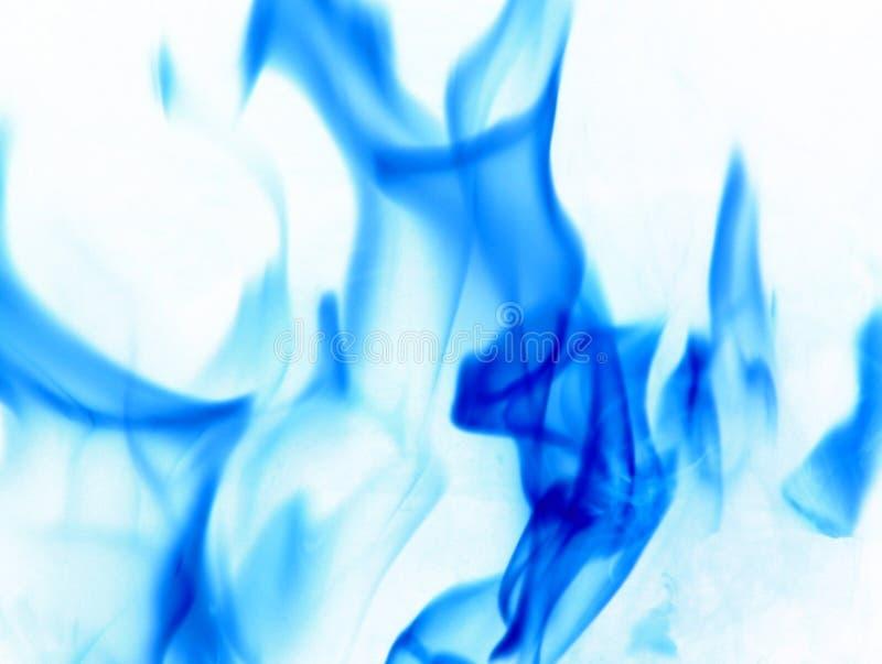 Niebieskie Płomienie Zdjęcia Stock