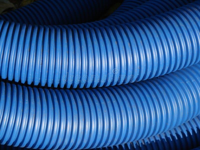 niebieskie rury obrazy stock