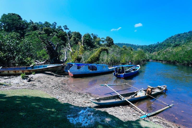 Niebieskiego Nieba rybołówstwa jezioro zdjęcia royalty free