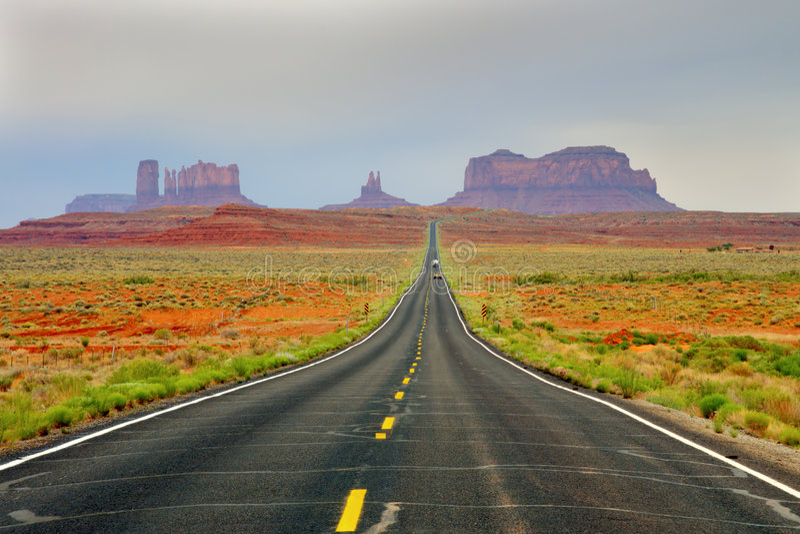 niebiosa drogowych zdjęcie stock
