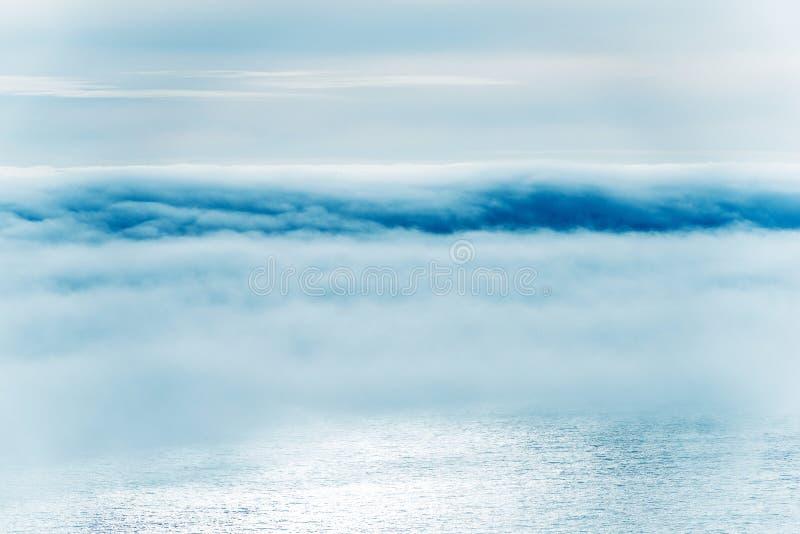 Niebla de California Coastal fotos de archivo libres de regalías