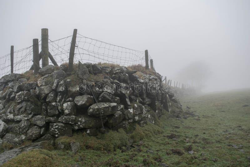 Niebla de Dartmoor imágenes de archivo libres de regalías