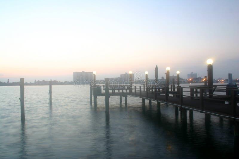 Niebla del amanecer fotos de archivo libres de regalías