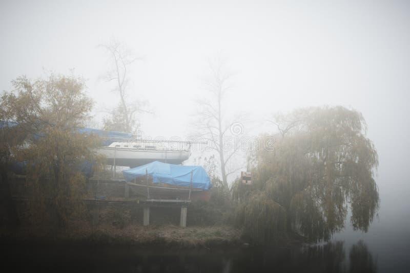 Niebla del misterio imágenes de archivo libres de regalías