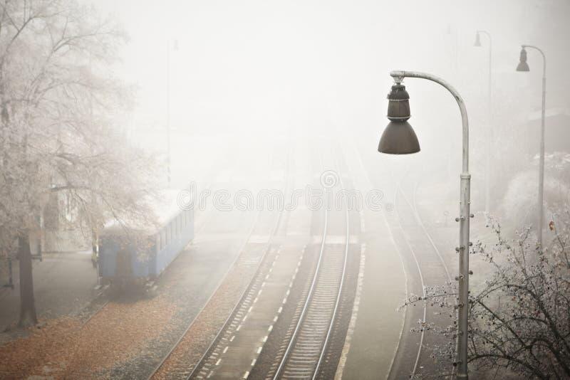 Niebla del misterio fotografía de archivo libre de regalías