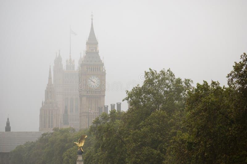 Niebla en Ben grande foto de archivo