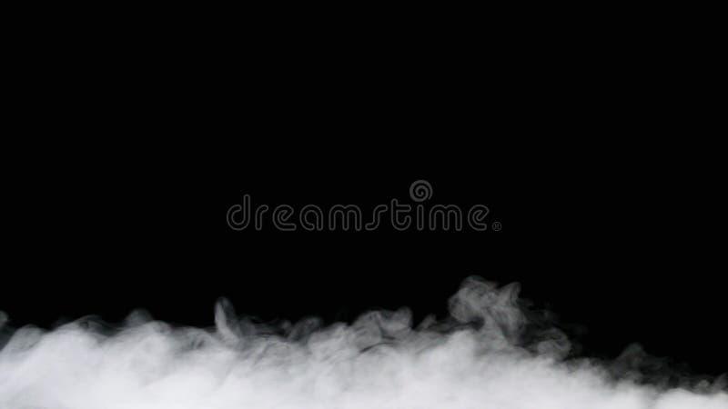Niebla o humo aislada fotografía de archivo libre de regalías