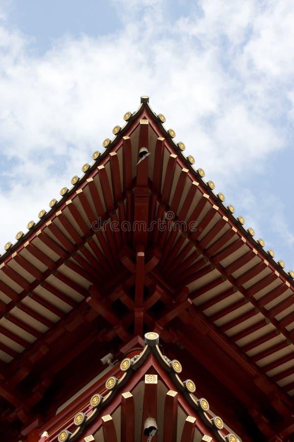 niebo świątynia fotografia stock