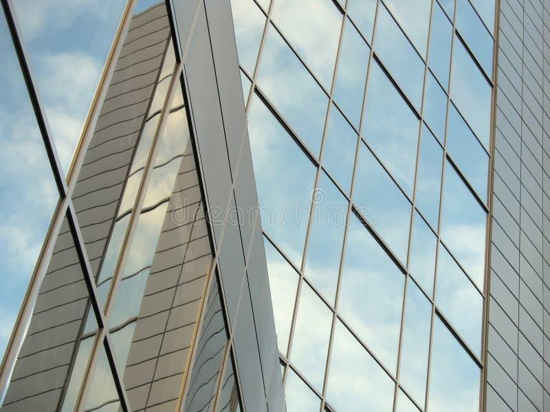 niebo budynku. obraz stock