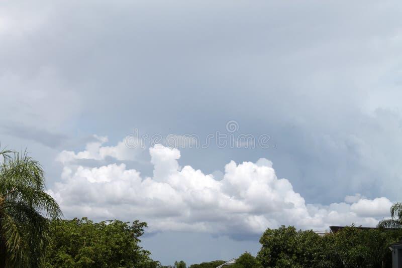 niebo burzowi obrazy stock
