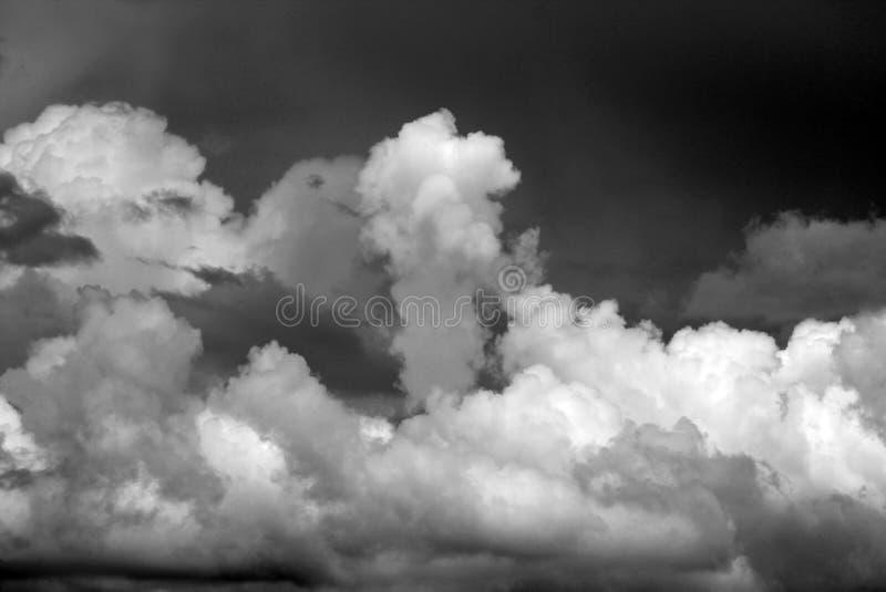 niebo burzowi zdjęcie stock