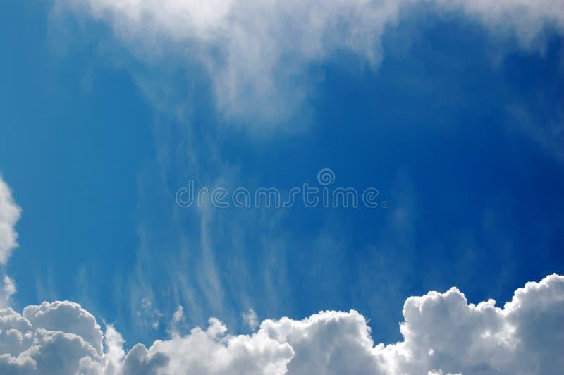 niebo, chmury fotografia stock