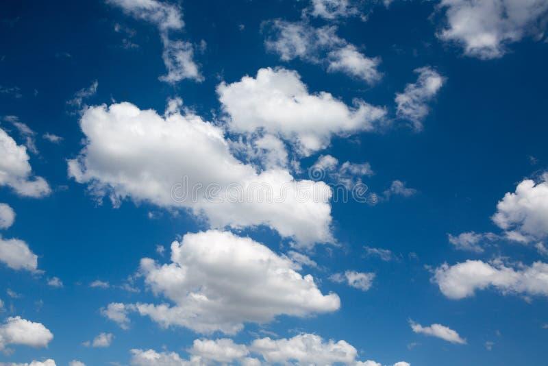niebo, chmury niebieski obrazy stock