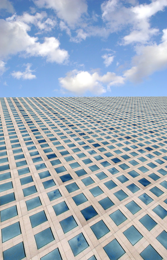 niebo, chmury niebieski fotografia royalty free