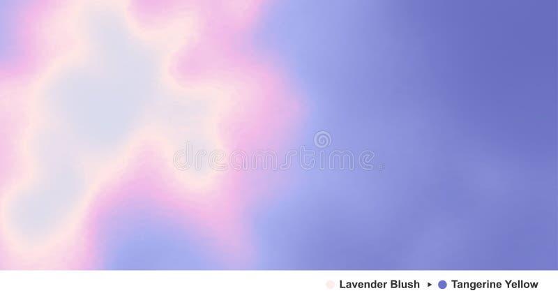 niebo, chmury niebieski Nowożytny wzór w kontekście niebieskie chmury odpowiadają trawy zielone niebo białe wispy natury Nowożytn royalty ilustracja