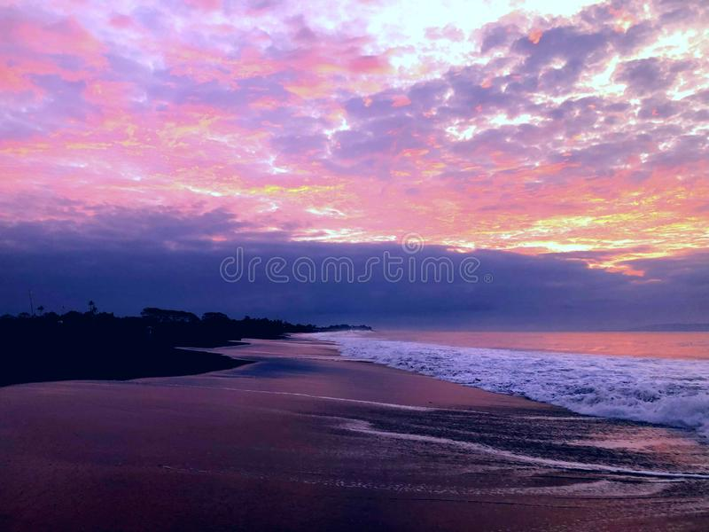 niebo, chmury niebieski Tlen, środowisko Ocean, niebo, kolorowe chmury, tło obrazy royalty free