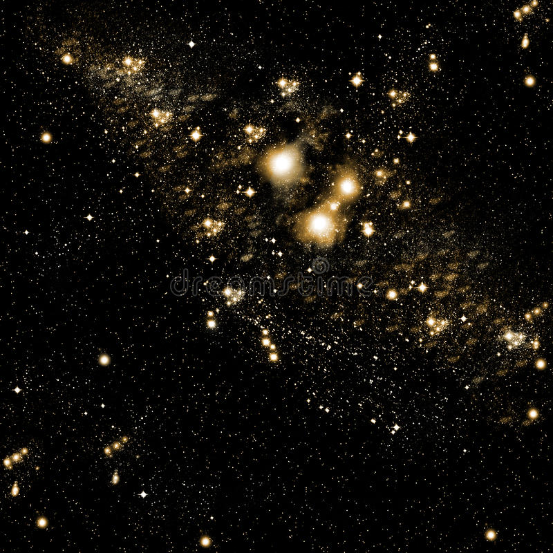 niebo gwiazdy ilustracja wektor
