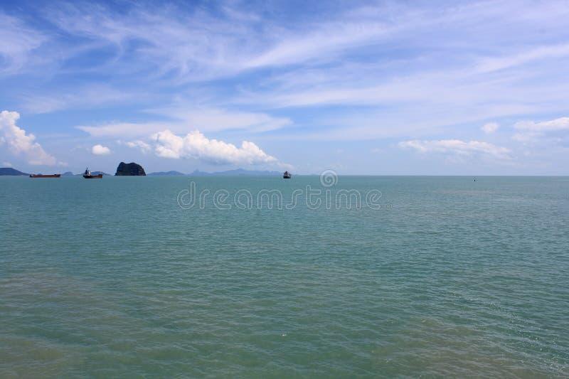 Niebo i ocean zdjęcia royalty free