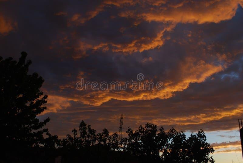 Niebo jest ograniczeniem zdjęcie stock