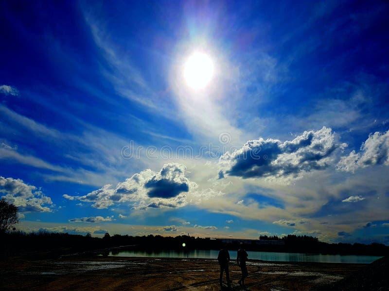 Niebo jest ograniczeniem obrazy stock