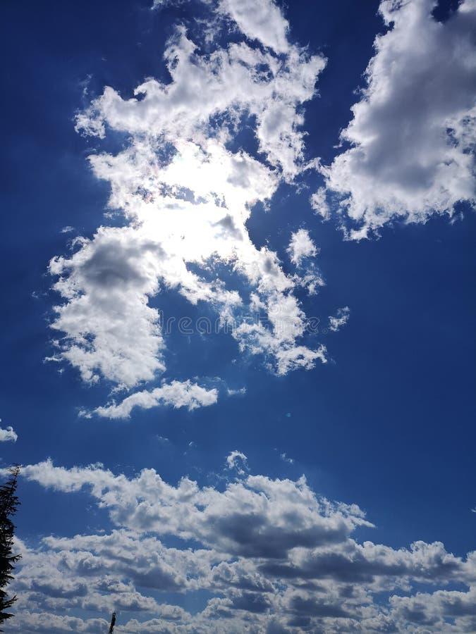 Niebo jest ograniczeniem obrazy royalty free
