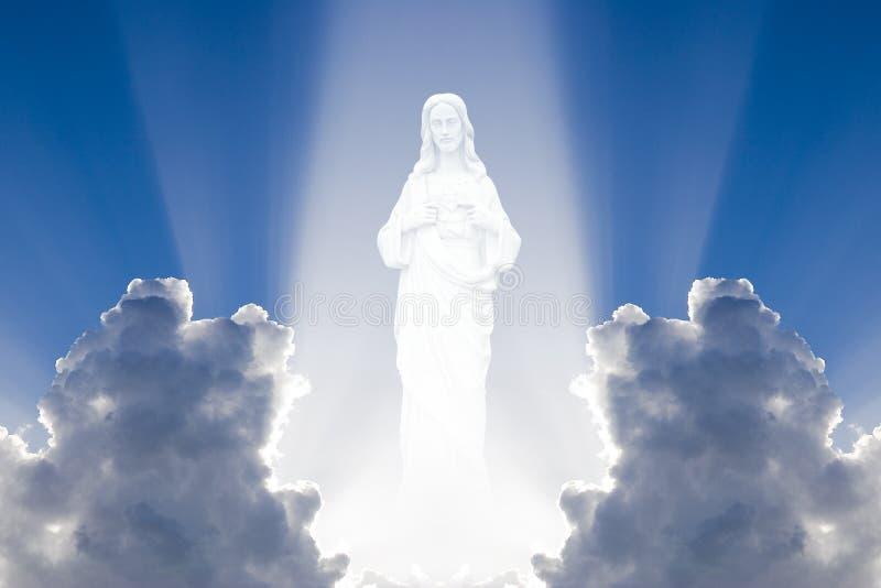 niebo Jezusa ilustracji