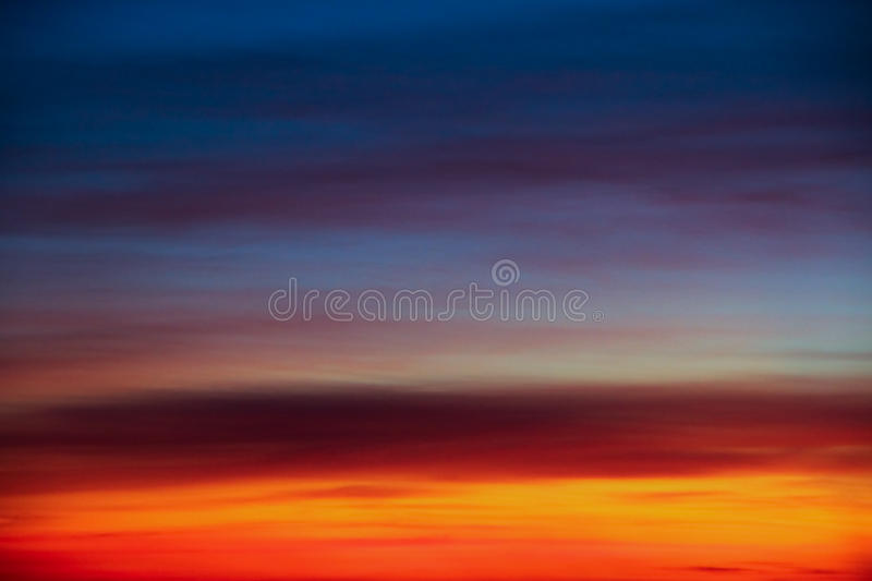 Niebo paleta obrazy royalty free
