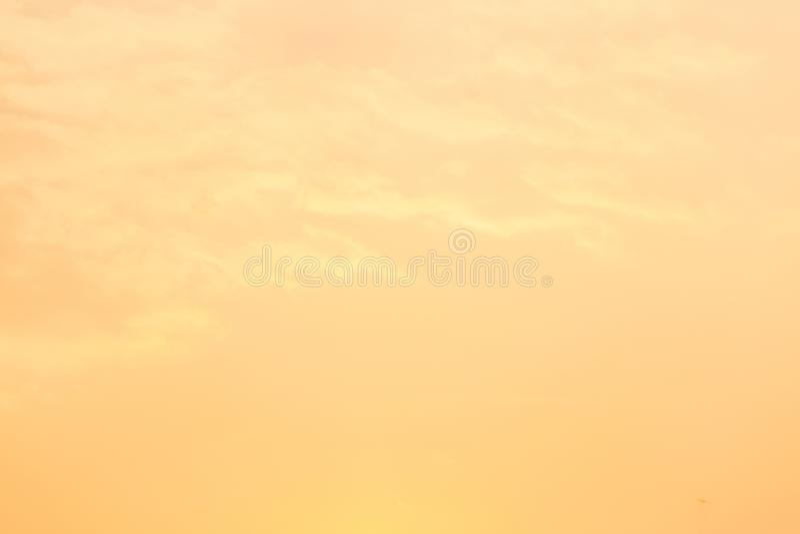 Niebo wieczór światła słonecznego gorąca strefa dla tła w projekcie i zdjęcia royalty free