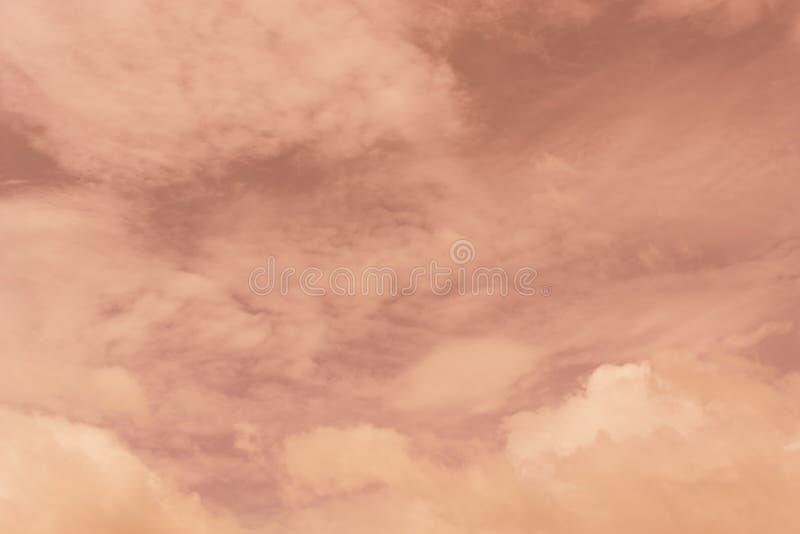 Niebo wieczór światła słonecznego gorąca strefa dla tła w projekcie i a zdjęcie stock