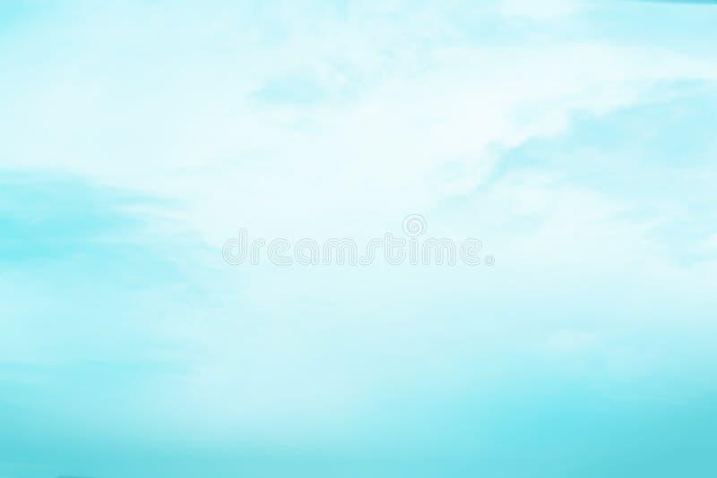 Niebo z chmurami rusza się z wiatrem obrazy stock