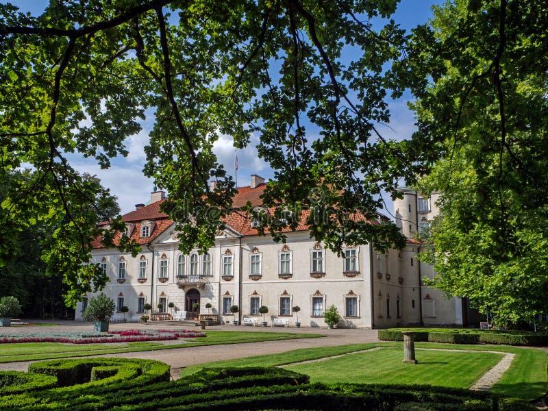 Nieborow, ancienne résidence de la famille Radziwi?? en Pologne photos libres de droits