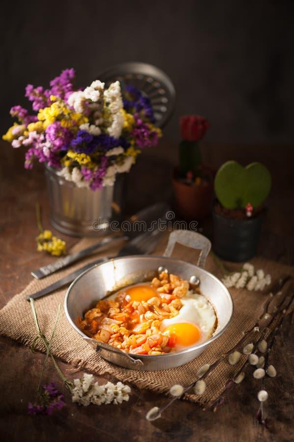 Niecki jajko obraz stock