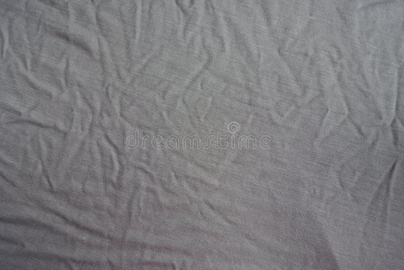 Nieco przyskrzyniająca z góry popielata tkanina zdjęcie royalty free