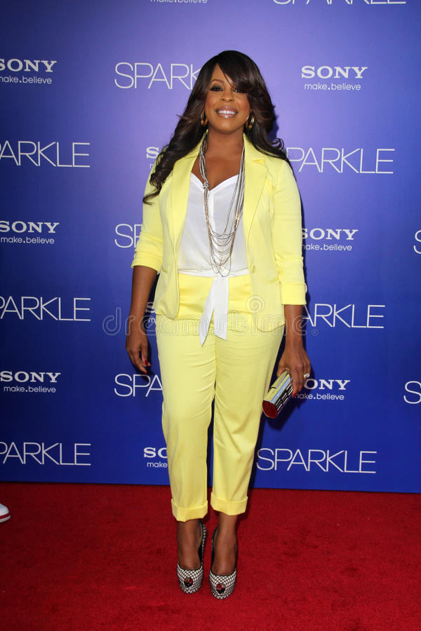 Niecy Nash. At the 'Sparkle' Premiere, Chinese Theater, Hollywood, CA 08-16-12 royalty free stock photos
