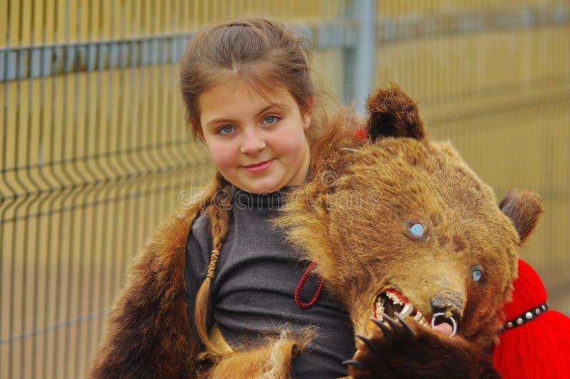 Niedźwiadkowa taniec parada 19 obraz stock