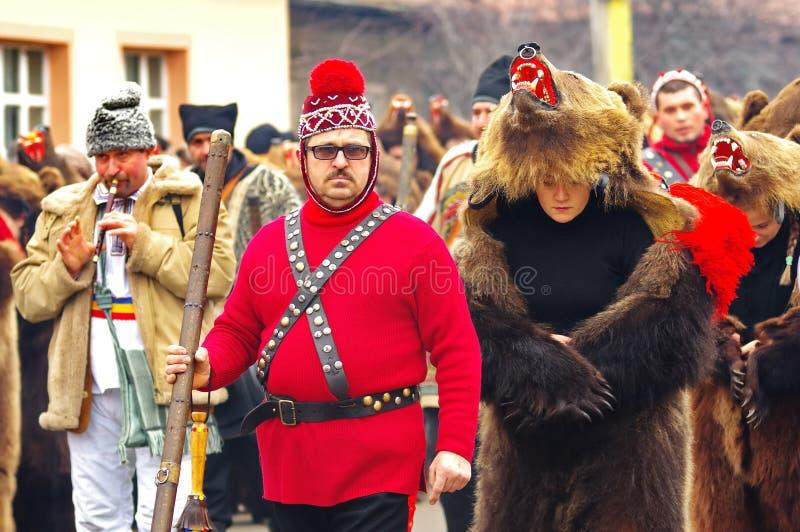 Niedźwiadkowa taniec parada 8 fotografia royalty free